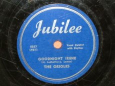 ORIOLES - GOODNIGHT IRENE