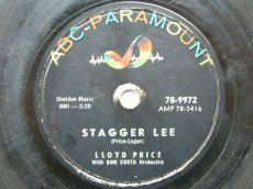 78P188 PRICE, LLOYD - STAGGER LEE