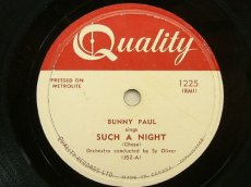 PAUL, BUNNY - SUCH A NIGHT