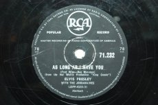 PRESLEY, ELVIS - AS LONG AS I HAVE YOU