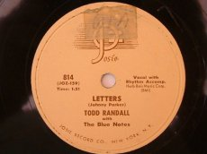 RANDALL, TODD - LETTERS