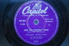 SINATRA, FRANK - SAME OLD SATURDAY NIGHT