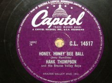 THOMPSON, HANK - HONEY, HONEY BEE BALL