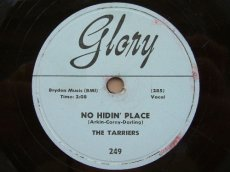 TARRIERS - NO HIDIN' PLACE