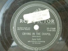 VALLI, JUNE - CRYING IN THE CHAPEL