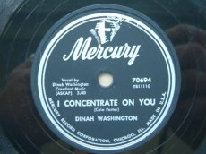 78W125 WASHINGTON, DINAH - I CONCENTRATE ON YOU