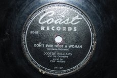 WILLIAMS, DOOTSIE - DON'T EVER TRUST A WOMAN