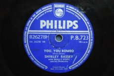 BASSEY, SHIRLEY - YOU, YOU ROMEO