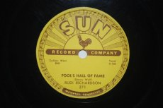 RICHARDSON, RUDI - FOOL'S HALL OF FAME